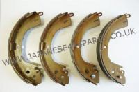 Mitsubishi L200 Pick Up 3.0P K76 (1996+) - Rear Brake Shoe Set